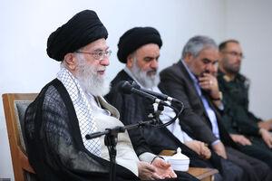 عکس/ دیدار دستاندرکاران کنگره شهدای استان کردستان با رهبر انقلاب