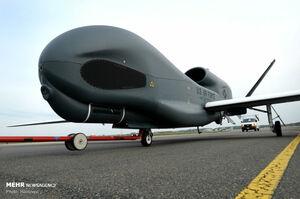عکس/ شکار غول 200میلیون دلاری آمریکا توسط سپاه