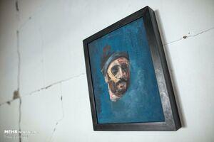 عکس/ آثار هنرمند جوان بر روی دیوارهای غزه
