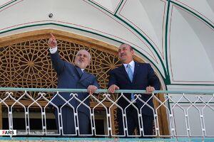 دیدار وزیران خارجه ترکیه و ایران در اصفهان