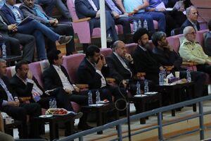 وزیر ورزش تماشاگر والیبال ایران و پرتغال