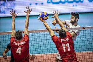 والیبال ایران و پرتغال