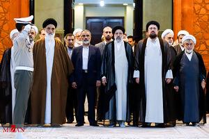 فیلم/ تجدید میثاق مسئولان عالی قضایی با آرمانهای امام(ره)