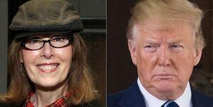 تجاوز ترامپ به یک خبرنگار در اتاق لباس