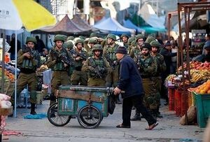 گاریچی فلسطینی در برابر ارتش اسرائیل! +عکس