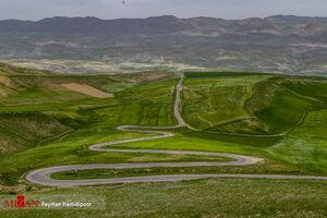 عکس/ جلوه زیباییهای طبیعت خراسان شمالی