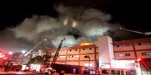 عکس/ آتش سوزی مرگبار در استانبول