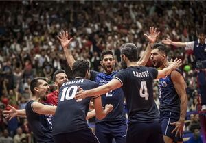 ایران نخستین تیم صعود کننده به فینال لیگ ملتها