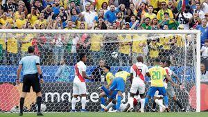 صعود برزیل با یک برد قاطعانه