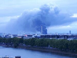 عکس/ آتش سوزی مرگبار در پاریس