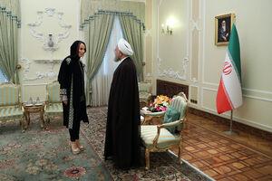 عکس/ دیدار رئیس اتحادیه بینالمجالس جهانی با روحانی