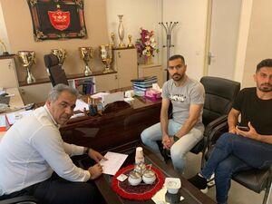 جلسه عرب با باقری و بازیکنان پرسپولیس +عکس