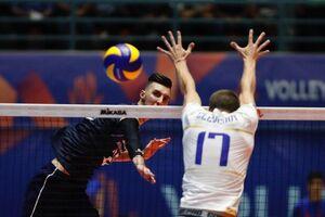 فیلم / خلاصه والیبال ایران ۰-۳ فرانسه