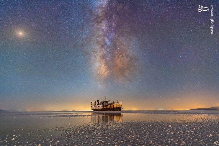 «بندر شرفخانه و دریاچه ارومیه» از مسعود قدیری