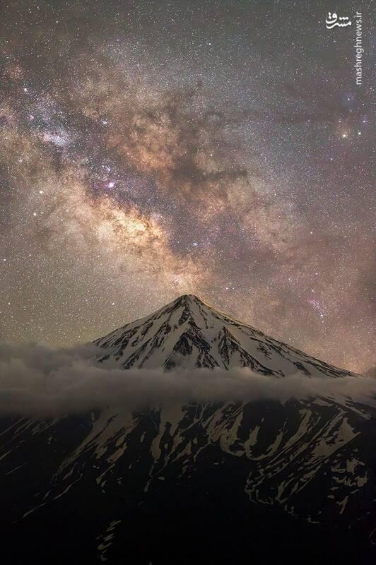 «در آغوش کوهها، قلب جهان» از مجید قهرودی