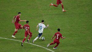 فیلم/ خلاصه دیدار آرژانتین 2-0 قطر
