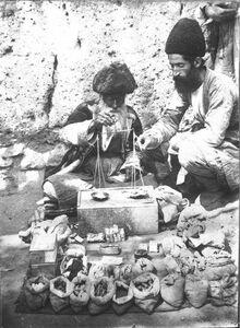 عکس/ عطاری در عهد قاجار