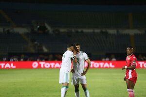 پیروزی الجزایر با گلهای بونجاح و محرز
