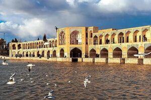 عکس/ نمایی زیبا از پل خواجو