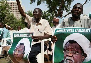 تظاهرات گسترده مردم نیجریه در حمایت از شیخ زکزاکی+فیلم