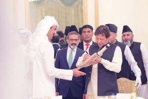 عکس/ سفر امیر قطر به پاکستان