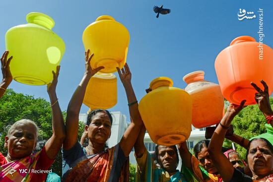 عکس/ خشکسالی بیسابقه در هند