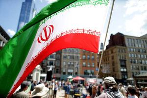 نه به جنگ با ایران مقابل کاخ سفید