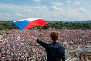 عکس/ تظاهرات مردم جمهوری چک علیه نخستوزیر