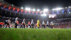 لگد بازیکن شیلی به جیمی جامپ +عکس