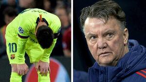 مسی هم در ناکامیهای بارسلونا سهیم است