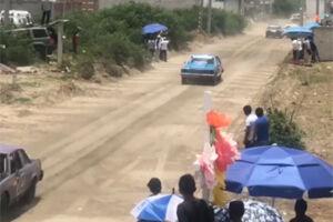 فیلم/ حادثه مرگبار در مسابقات اتومبیلرانی!