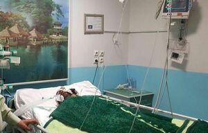 عکس/ مجروحیت سرهنگ ثمره توسط یک شرور