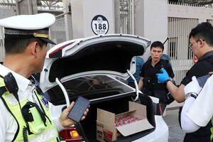 خودروی پُر از کپسول گاز به سفارت آمریکا در سئول کوبیده شد