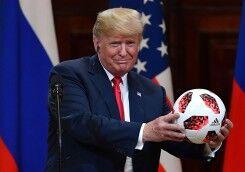 ترامپ و قرص مفیدی به نام فوتبال