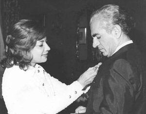 نفوذ اشرف بر محمدرضا پهلوی +عکس