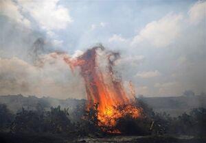 انفجار بالنهای آتشزا در شهرکهای صهیونیستنشین اطراف غزه