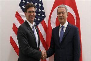 وزرای دفاع ترکیه و آمریکا