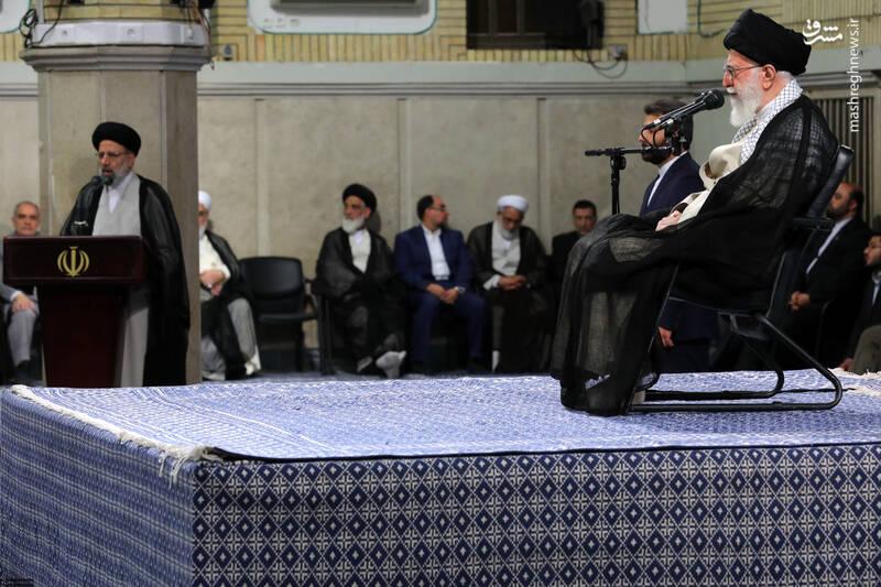 گزارش تصویری دیدار مسئولان قوه قضائیه با رهبر انقلاب