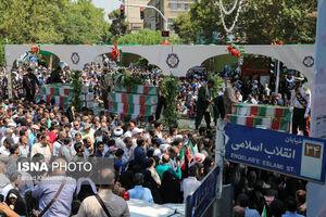 این همه مردم در گرمای آسفالت آبکن تهران