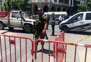 انفجار نزدیک سفارت فرانسه در تونس