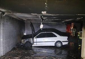 آتشسوزی پرشیا ۱۵ نفر را گرفتار کرد +عکس