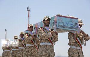 عکس/ استقبال از پیکرهای شهدای گمنام در بیرجند