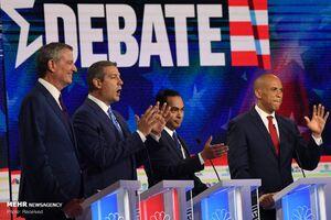 عکس/ مناظره ۲۰ نامزد دموکرات آمریکا
