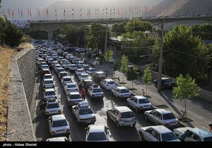 ترافیک کرج ـ چالوس