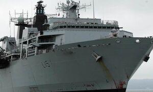 ناوگان نظامی انگلیس توان درگیری با ایران را ندارد