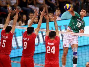 فیلم / خلاصه والیبال بلغارستان ۰-۳ ایران