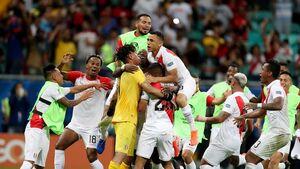 صعود پرو با شکست اروگوئه