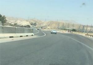 فیلم/ وضعیت بزرگراه شیراز خرامه که یک قربانی گرفت