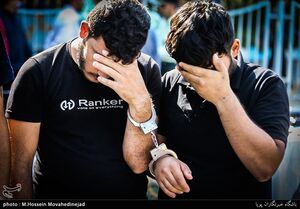 عکس/ پاتک پلیس به خلافکاران تهرانی