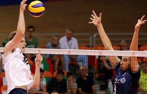 جدول لیگ ملتهای والیبال بعد از شکست ایران مقابل آمریکا